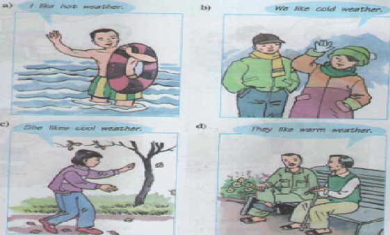 Giải bài tập Tiếng Anh 6 Unit 13: Activities and The seasons