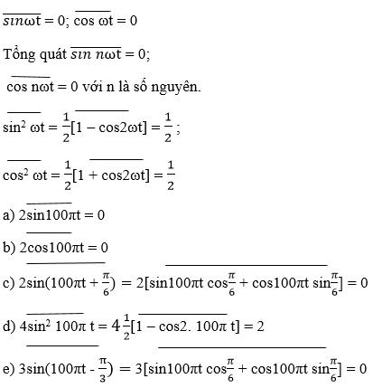 giai ly lop 12 bai 12 dai cuong ve dong dien xoay chieu 7 - Giải Lý lớp 12 Bài 12: Đại cương về dòng điện xoay chiều