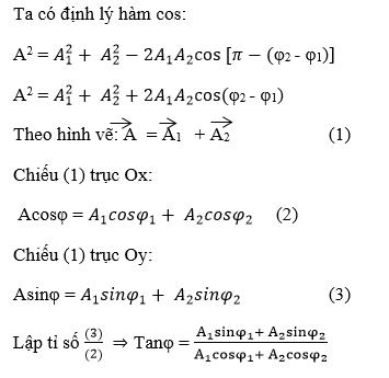 giai ly lop 12 bai 5 tong hop hai dao dong dieu hoa cung phuong cung tan so phu 3 - Giải Lý lớp 12 Bài 5: Tổng hợp hai dao động điều hòa cùng phương, cùng tần số. Phương pháp Fre-Nen