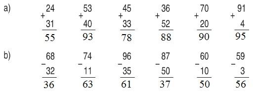 giai toan lop 1 bai on tap cac so den 100 trang 174 3 - Giải Toán lớp 1 bài Ôn tập : các số đến 100 trang 174