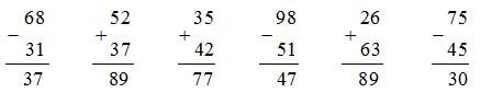 giai toan lop 1 bai on tap cac so den 100 trang 175 - Giải Toán lớp 1 bài Ôn tập : các số đến 100 trang 175
