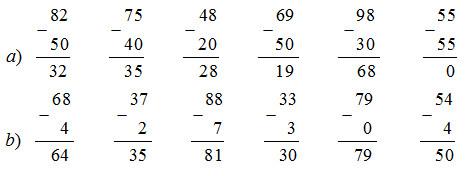 giai toan lop 1 bai phep tru trong pham vi 100 tru khong nho tiep theo 2 - Giải Toán lớp 1 bài Phép trừ trong phạm vi 100 (trừ không nhớ) (tiếp theo)