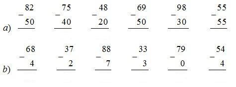 giai toan lop 1 bai phep tru trong pham vi 100 tru khong nho tiep theo - Giải Toán lớp 1 bài Phép trừ trong phạm vi 100 (trừ không nhớ) (tiếp theo)