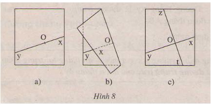 giai toan lop 7 bai 2 hai duong thang vuong goc 1 - Giải Toán lớp 7 Bài 2: Hai đường thẳng vuông góc